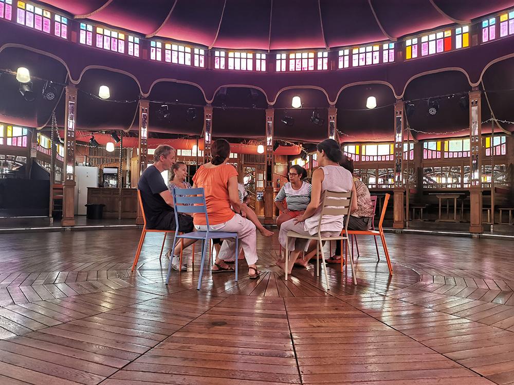 Débriefing Théâtre d'improvisation en région Paca